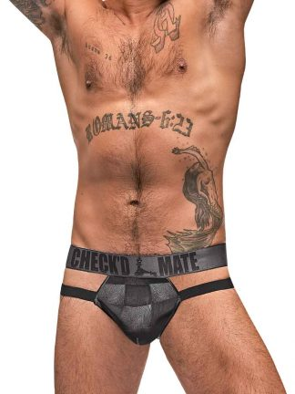 Checked Mate Cutout Jock