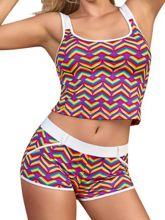 pride tank top and short set