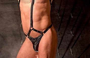 Mens Kinky Leather Underwear