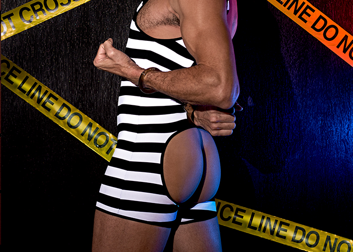 male power prison costume role play